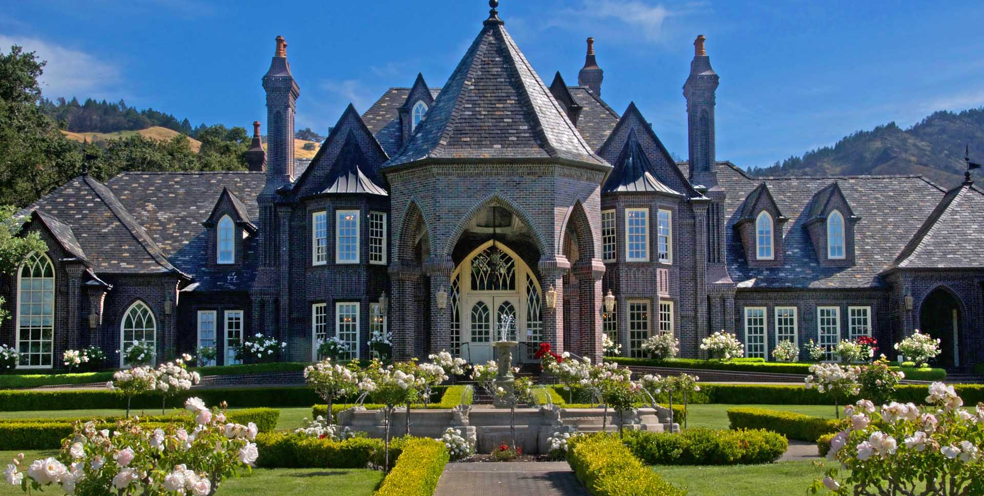 6 castle wineries in sonoma county