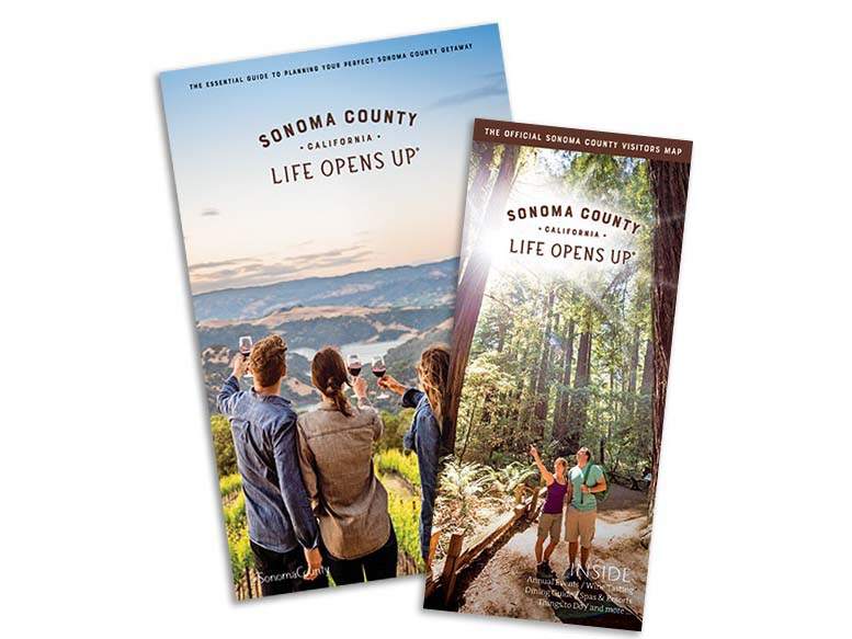 Sonoma County Visitor Guide cover