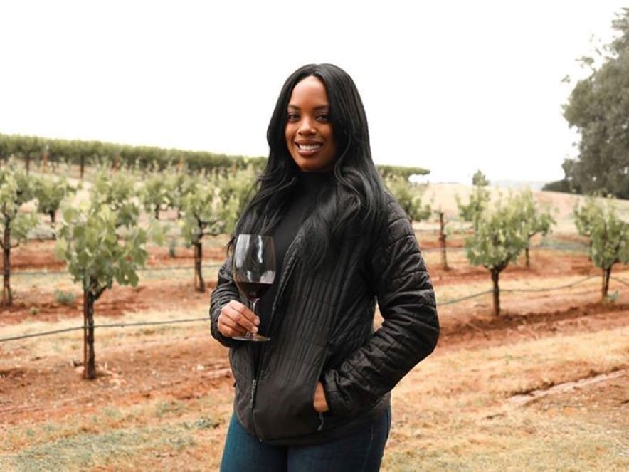 Picture of Brenae Royal, vineyard manager at Monte Rosso