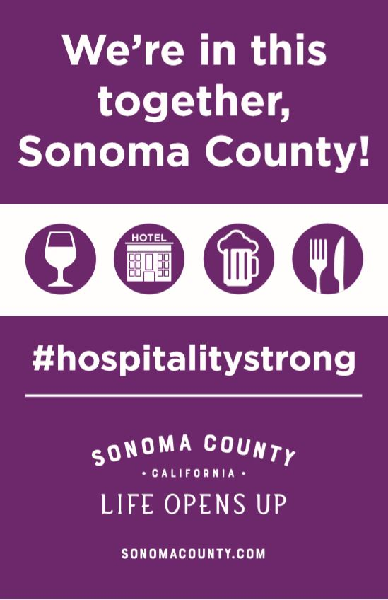 SCT Hospitality Strong poster
