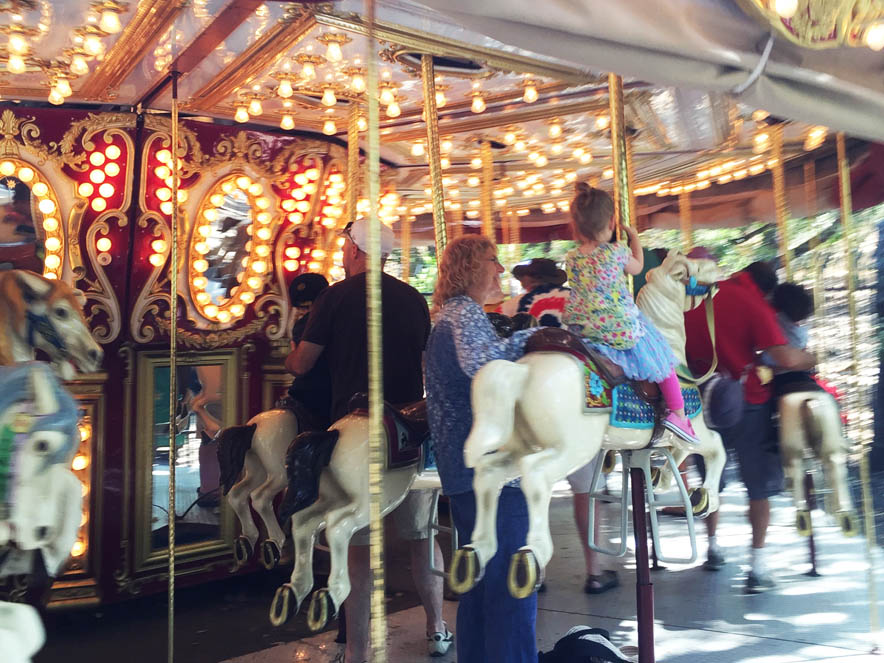 Carousel at Howarth Park.