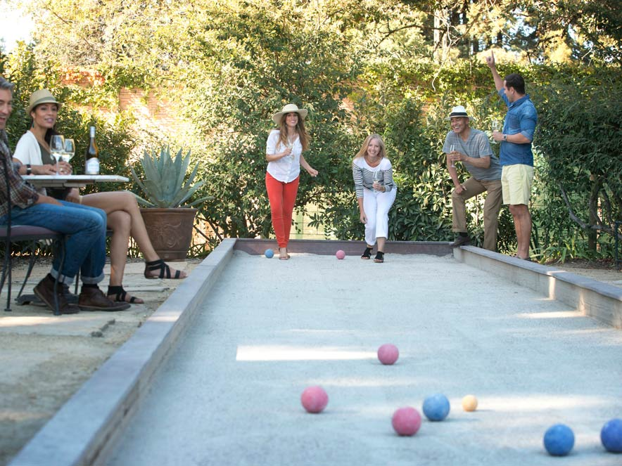 people playing Bocce in Sonoma County