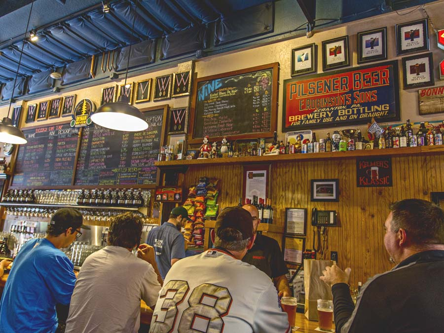 Russian River Brewing Tap Room