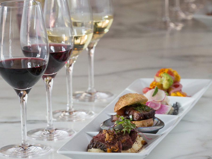 A seasonal Wine & Food Pairing at Ram's Gate Winery, Sonoma