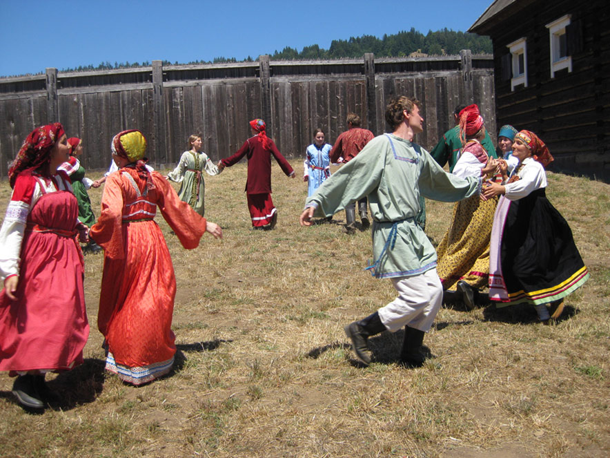 See history come to life at Fort Ross State Historic Park during the Fort Ross Festival, Jenner
