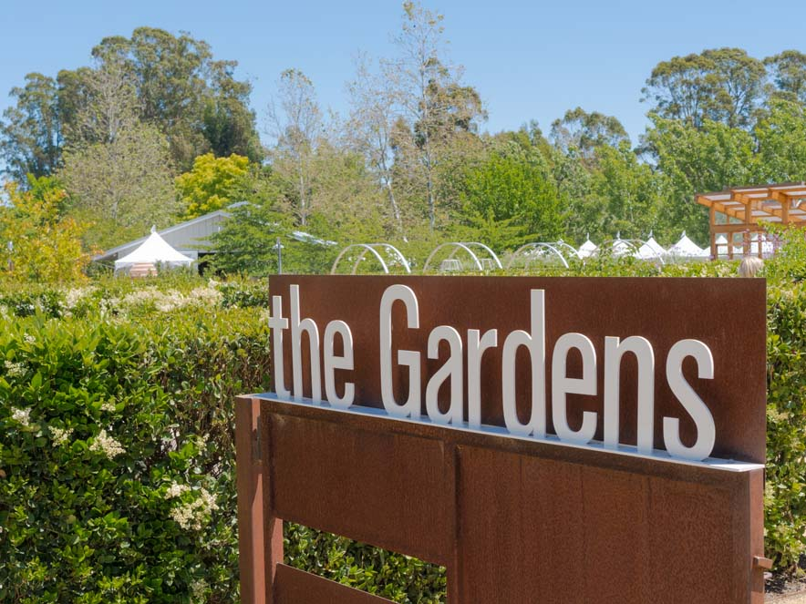 Image of sign from Cornerstone gardens.