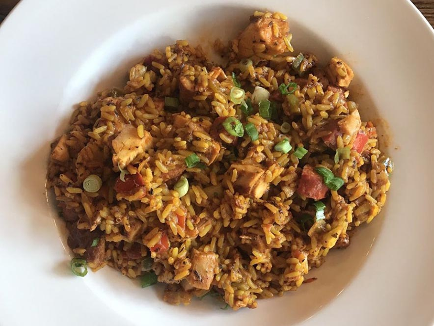 Image of jambalaya from Gator's Rustic Burger & His Creole Friends