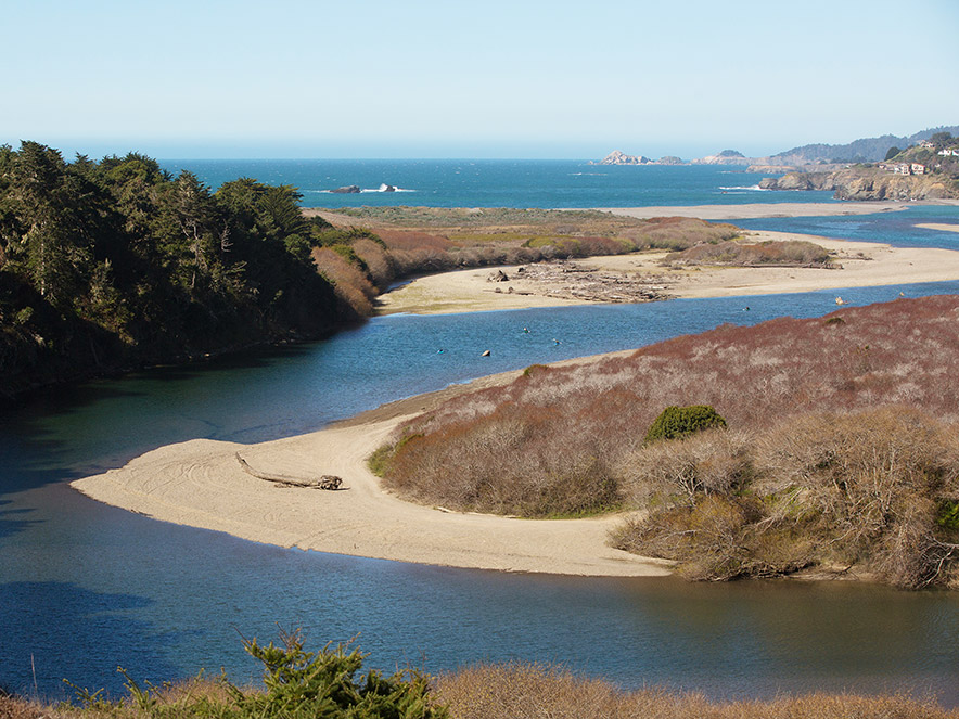 Gualala Point Regional Park in Sonoma County