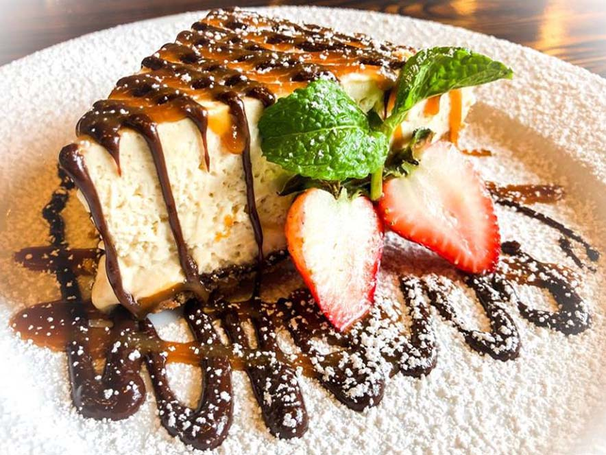 Image of peanut butter pie from Gator's Rustic Burger & His Creole Friends.