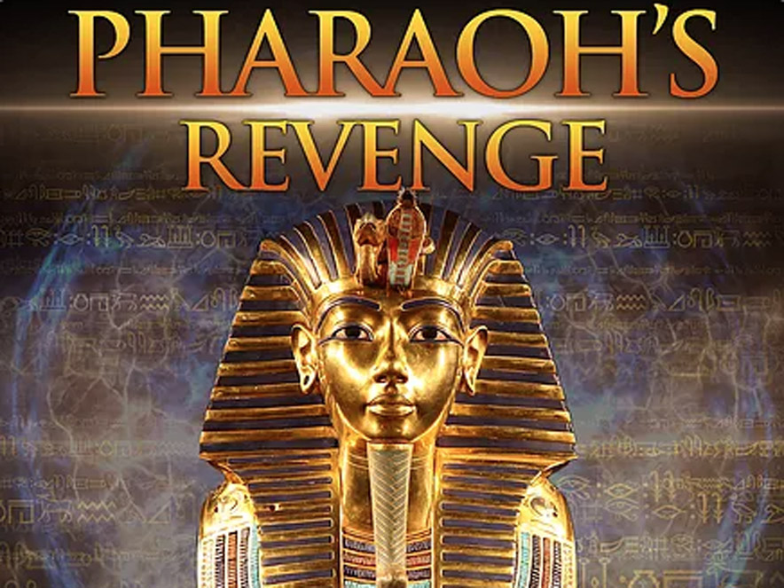 An ad for Pharaoh's Revenge Escape Room