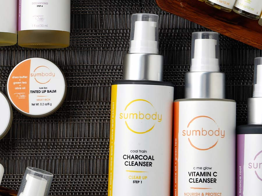 Luxurious bath products from Sumtime Spa at Sumbody