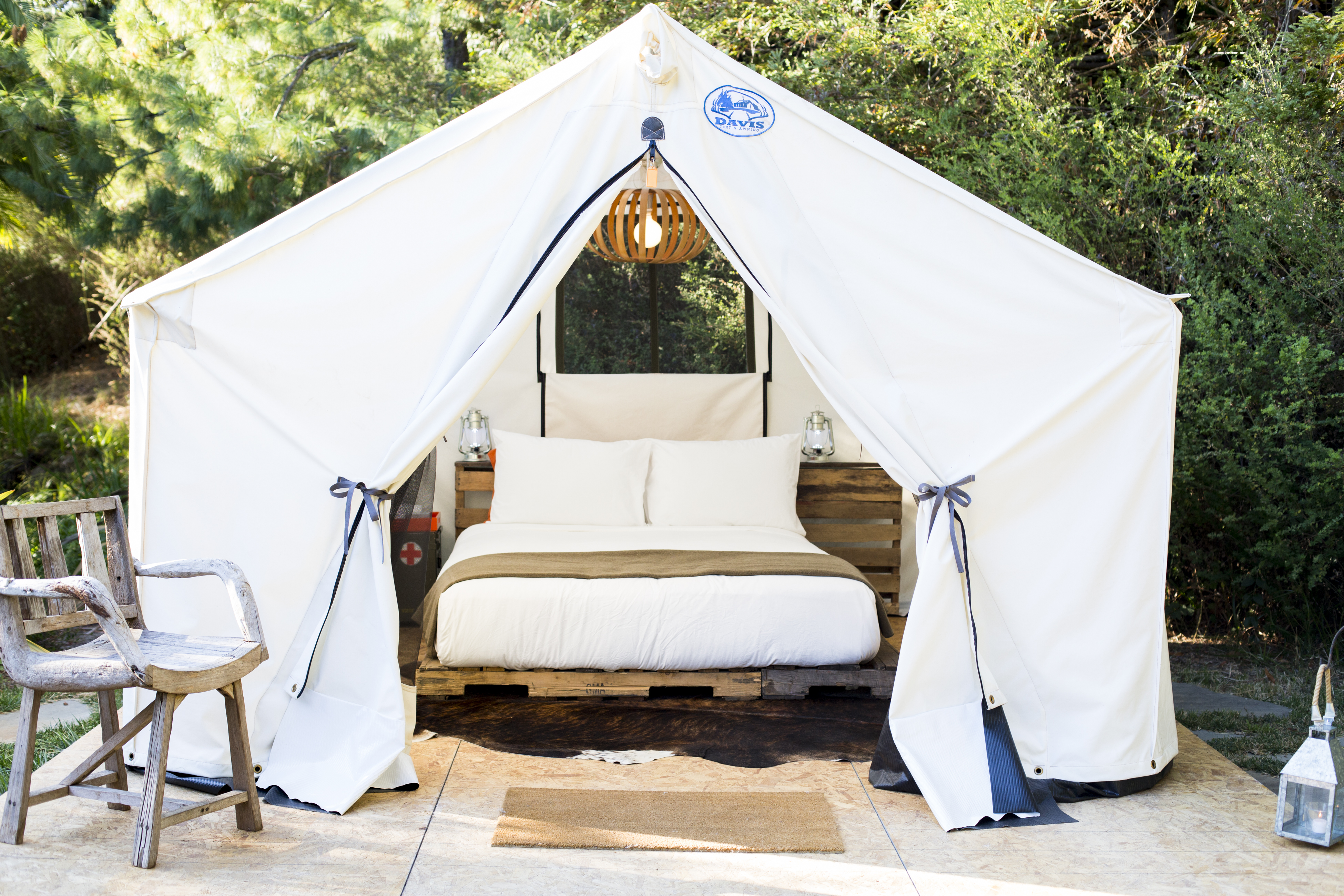 Glamping at Boon Hotel + Spa, Guerneville, Sonoma County, California