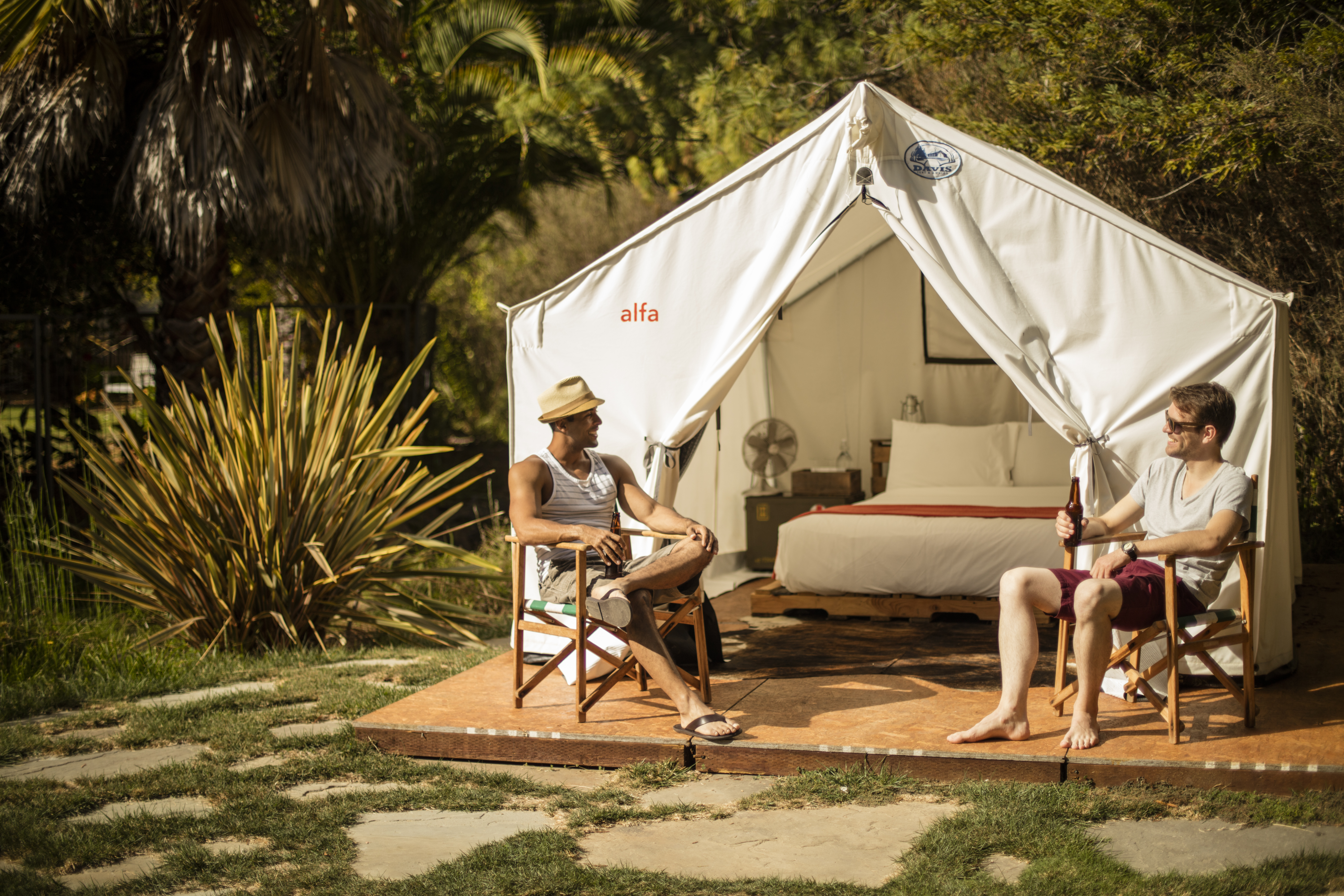 Go glamping at Boon Hotel + Spa in Guerneville, Sonoma County, California