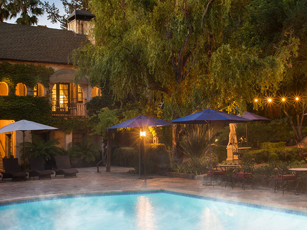 Kenwood Inn Maintains An Atmosphere That Ensures Tranquility And Quiet So The Pools Are Unsuitable For Those Eigh Under Poolside Spa Services