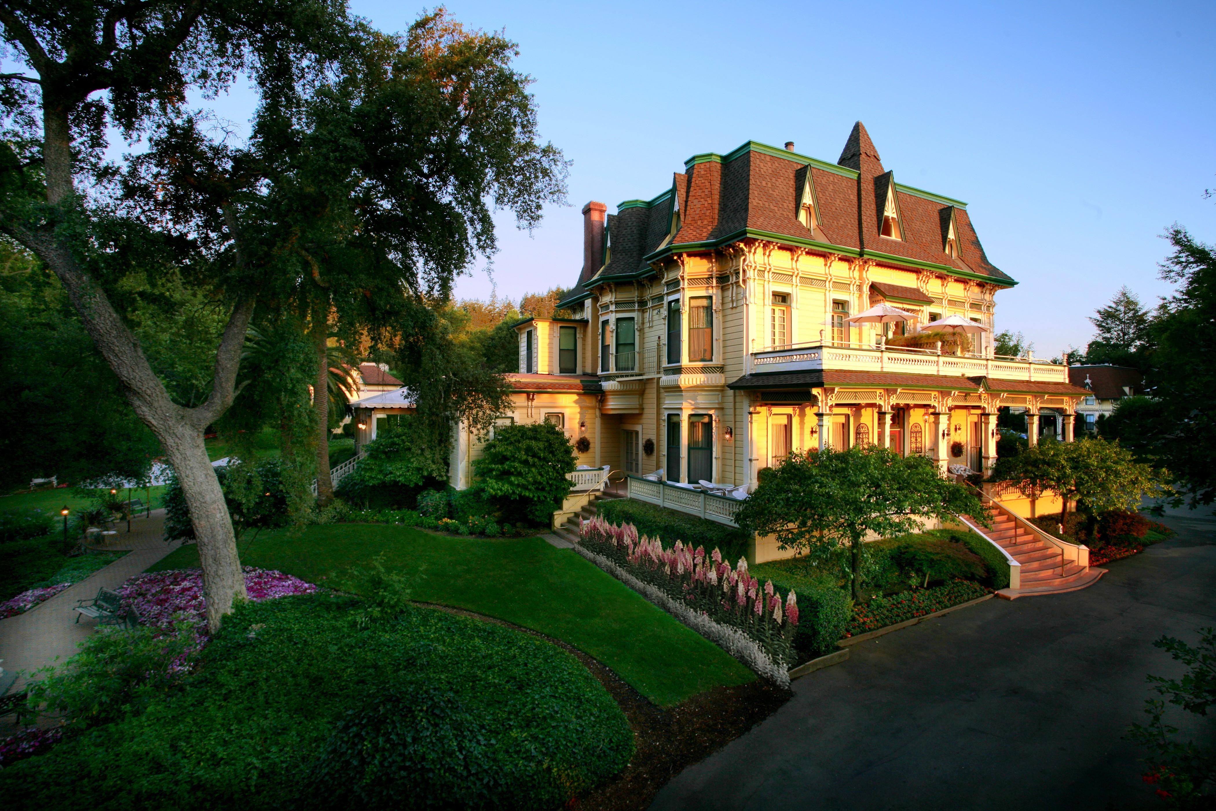Madrona Manor in Healdsburg, California