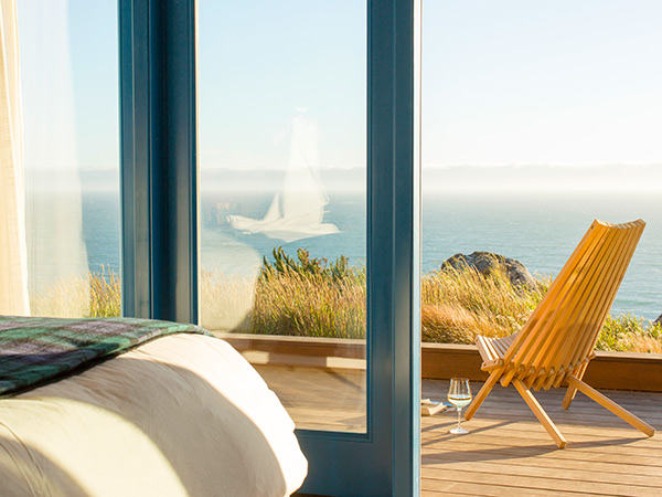 Stay in Timber Cove Resort on the Sonoma County coast in California