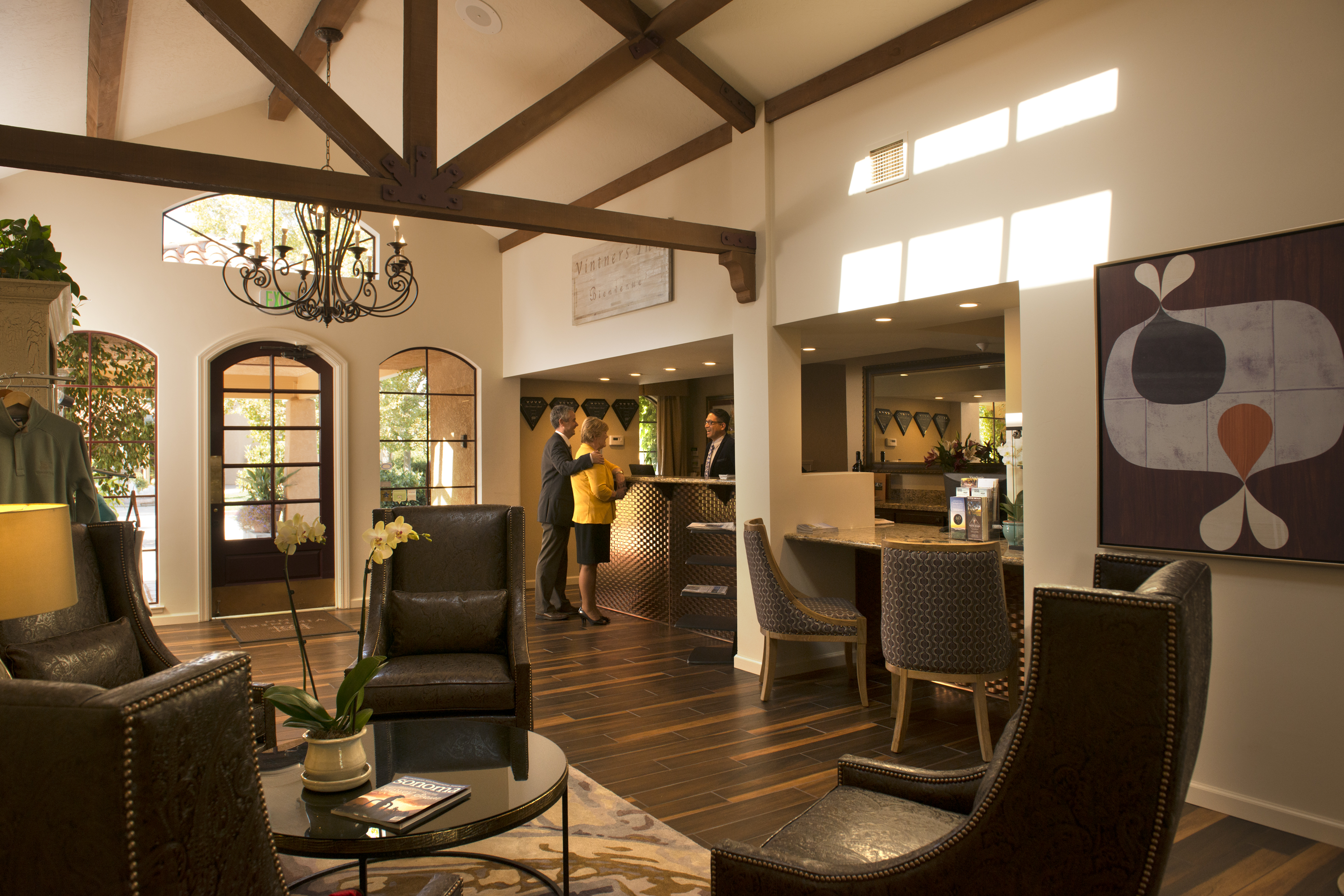 Stay in luxurious Vintners Inn in Sonoma County, California