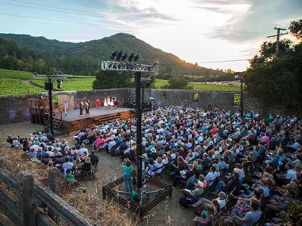 transcendence theater broadway under the stars jack london state park sonoma county