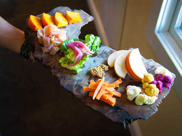 Enjoy a farm-to-fork meal at Backyard in Forestville, Sonoma COunty, California