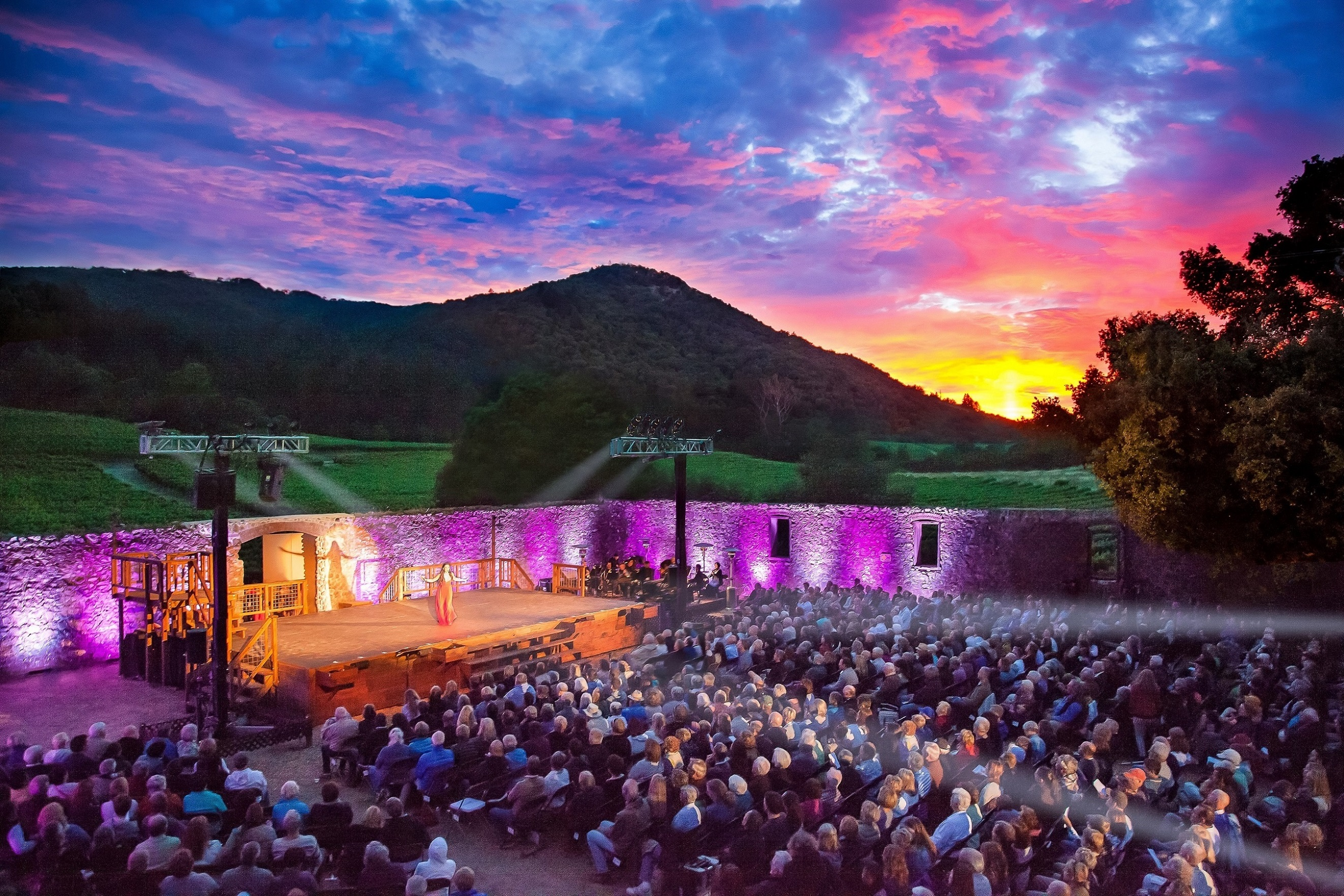 Broadway Under the Stars at Jack London State Historic Park in Sonoma County, California