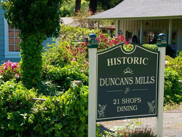 Duncans Mills, Sonoma County, California