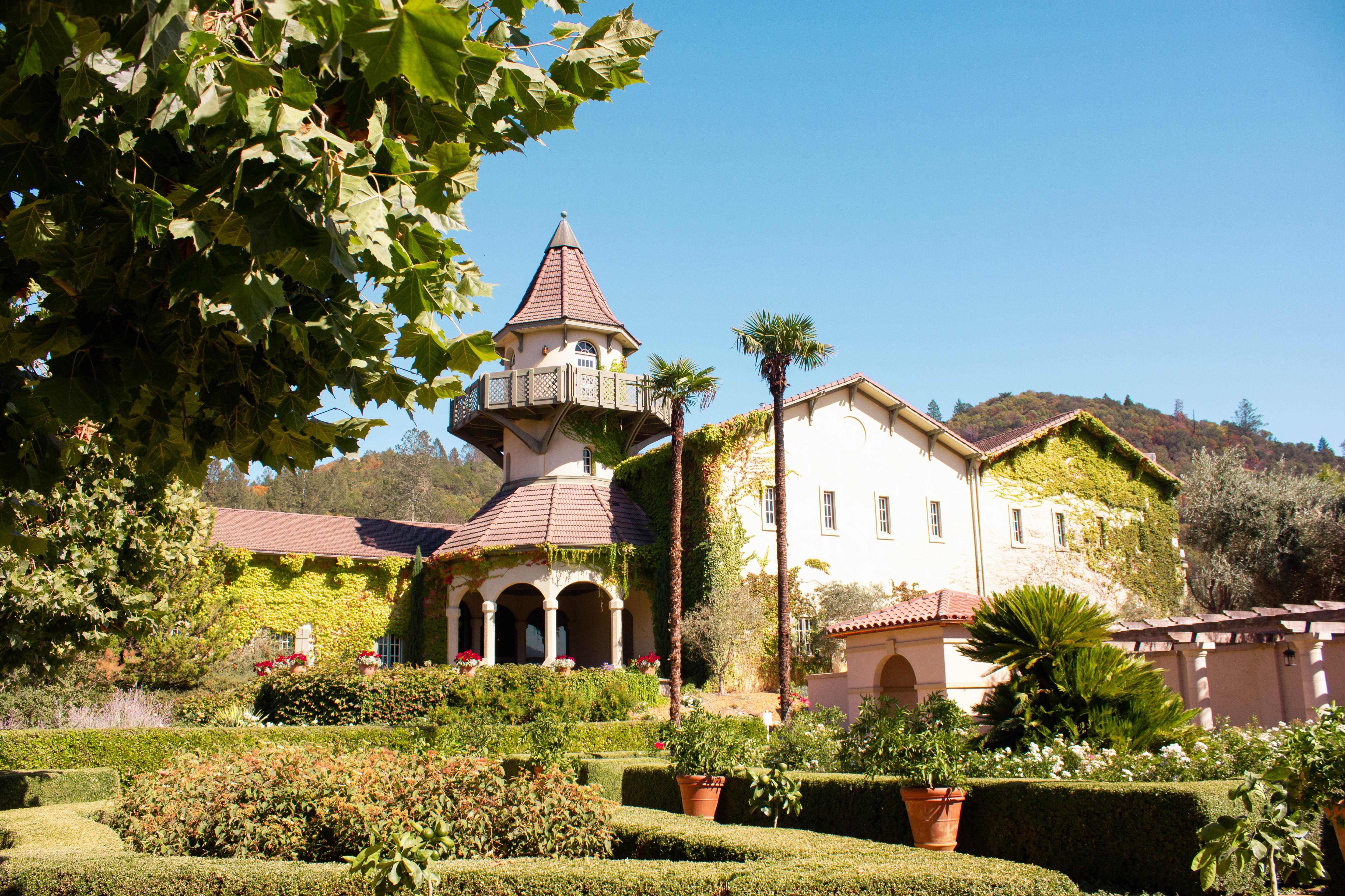 Chateau St. Jean, Sonoma County, California