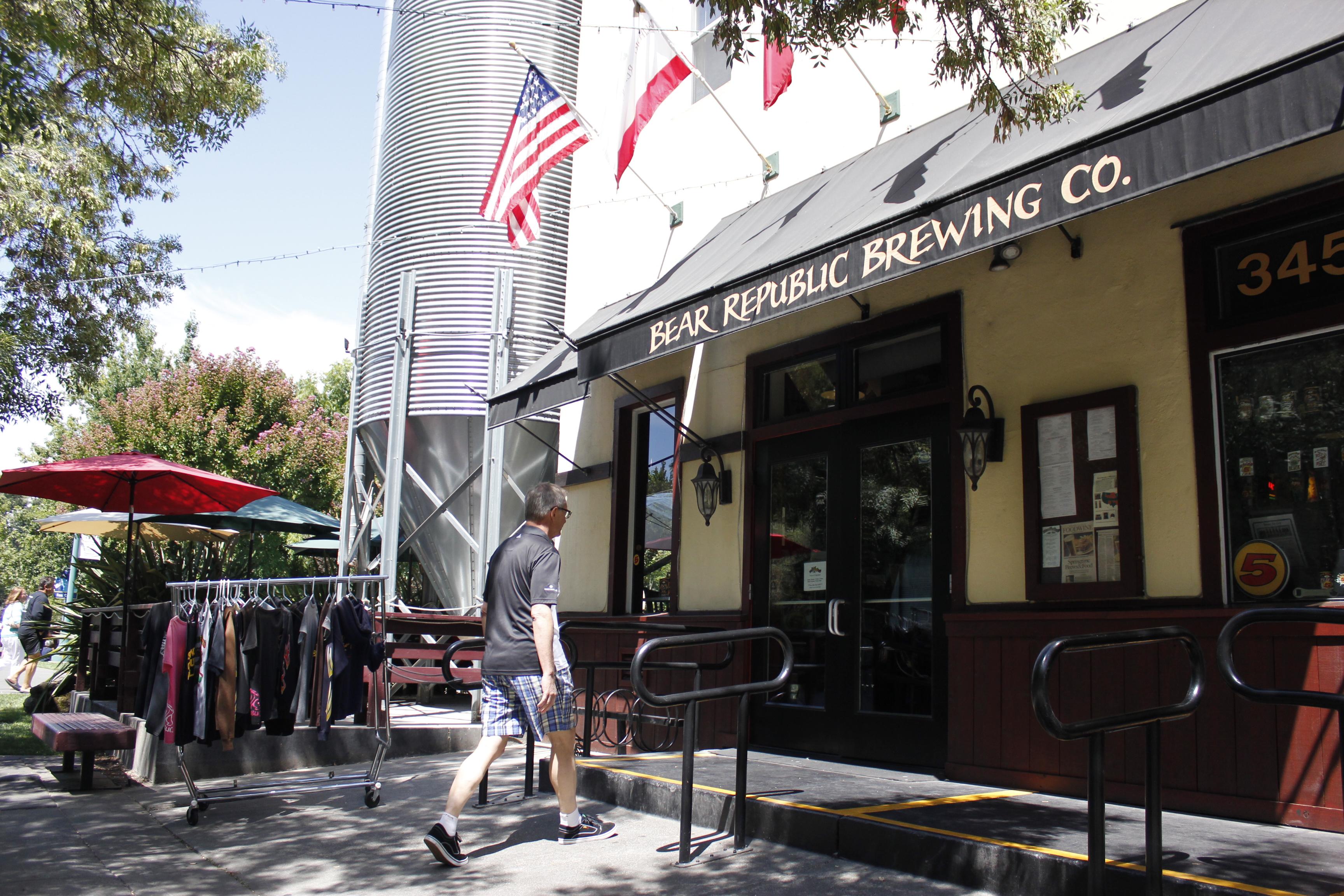 Bear Republic in Healdsburg, California
