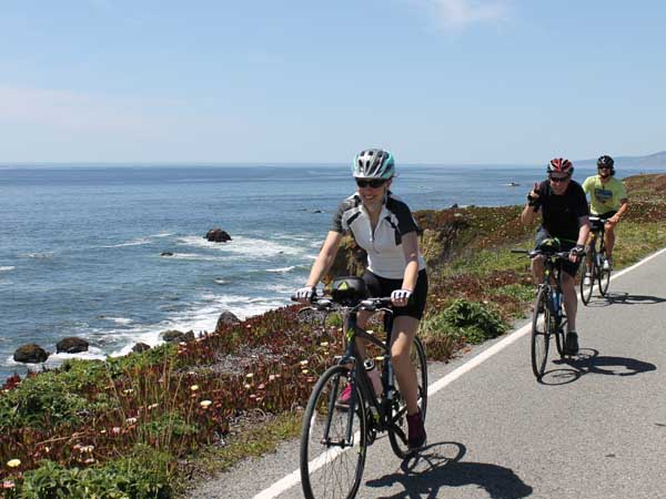 cycling the coast sonoma county jenner