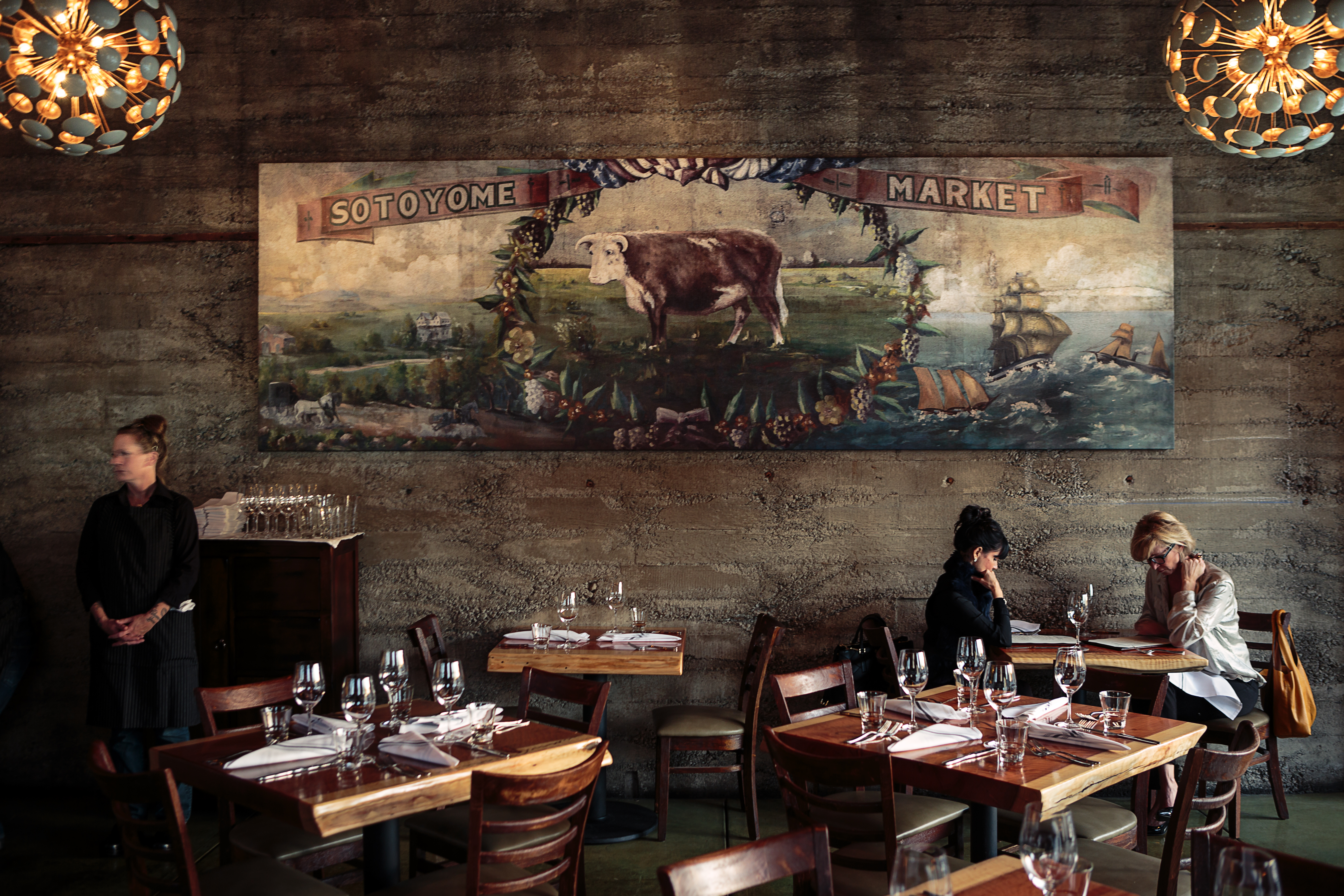 Valette in Healdsburg, Sonoma County, California