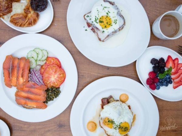 Brunch at Girl and the Fig in Sonoma, Sonoma COunty, California