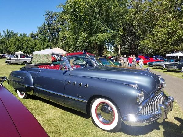 Father's Day Show & Shine Car Show in Sonoma County, California