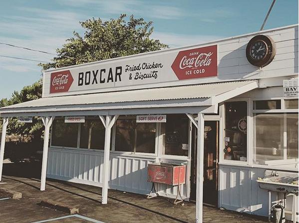 Boxcar, Sonoma, California