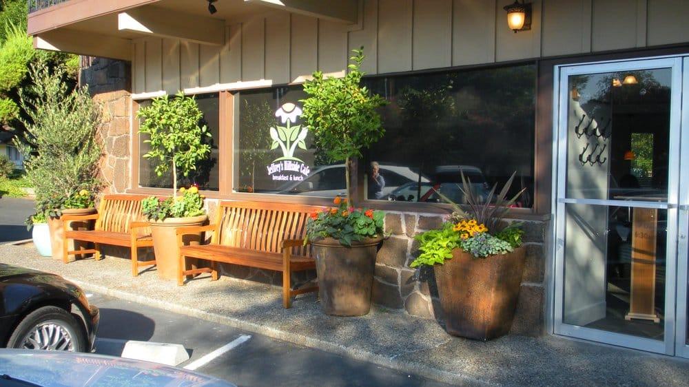 Jeffrey's Hillside Café, Santa Rosa, California