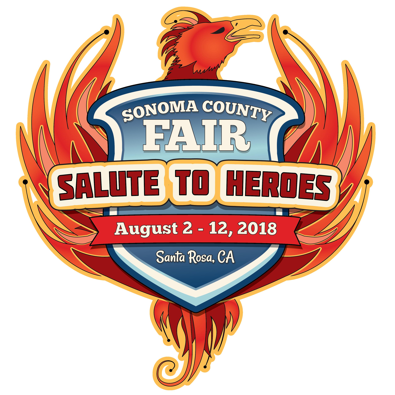 "Sonoma County Fair ""salute to Heros"" in Santa Rosa, California"