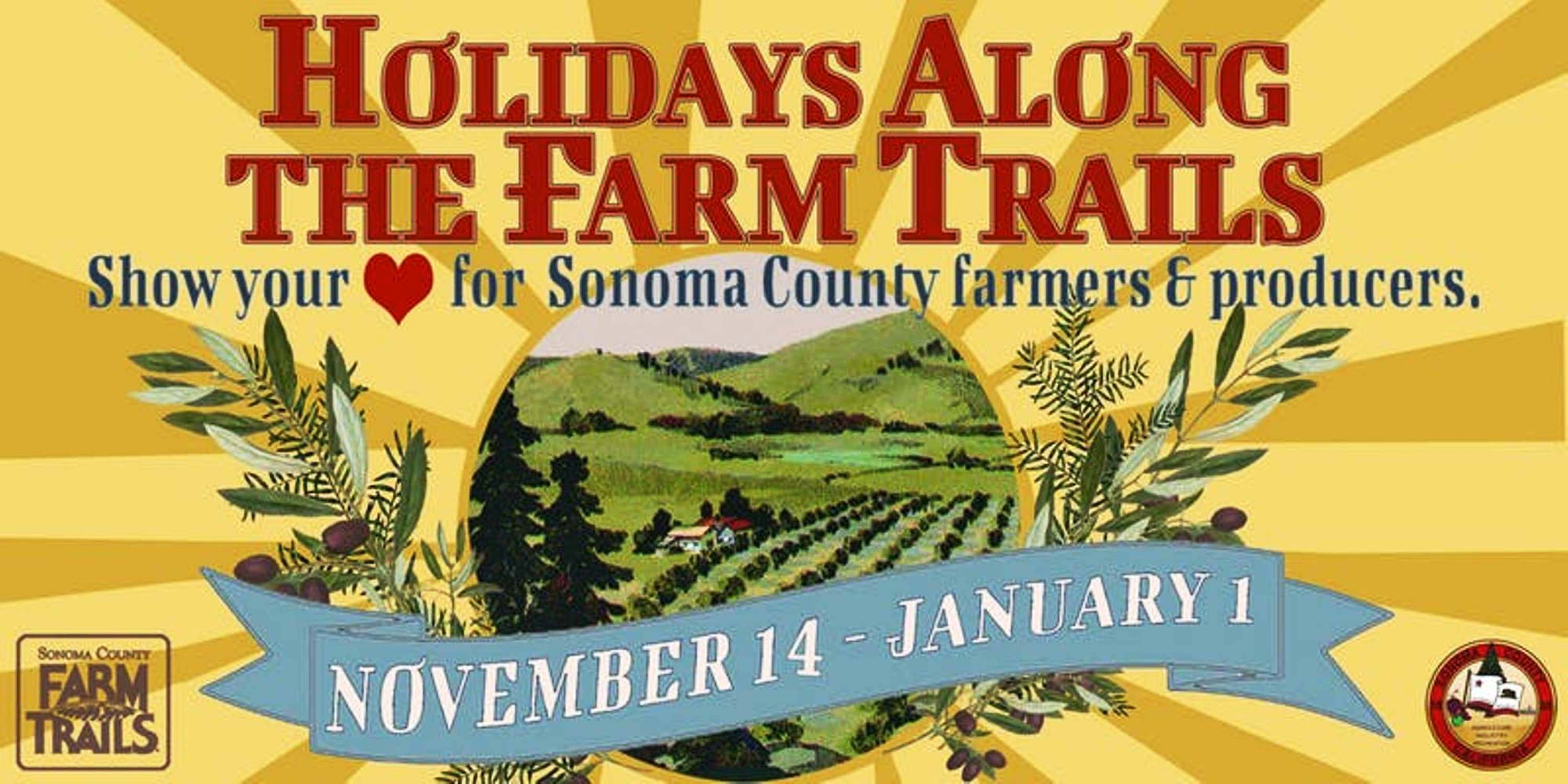Holidays Along the Farm Trails, Sonoma County, California