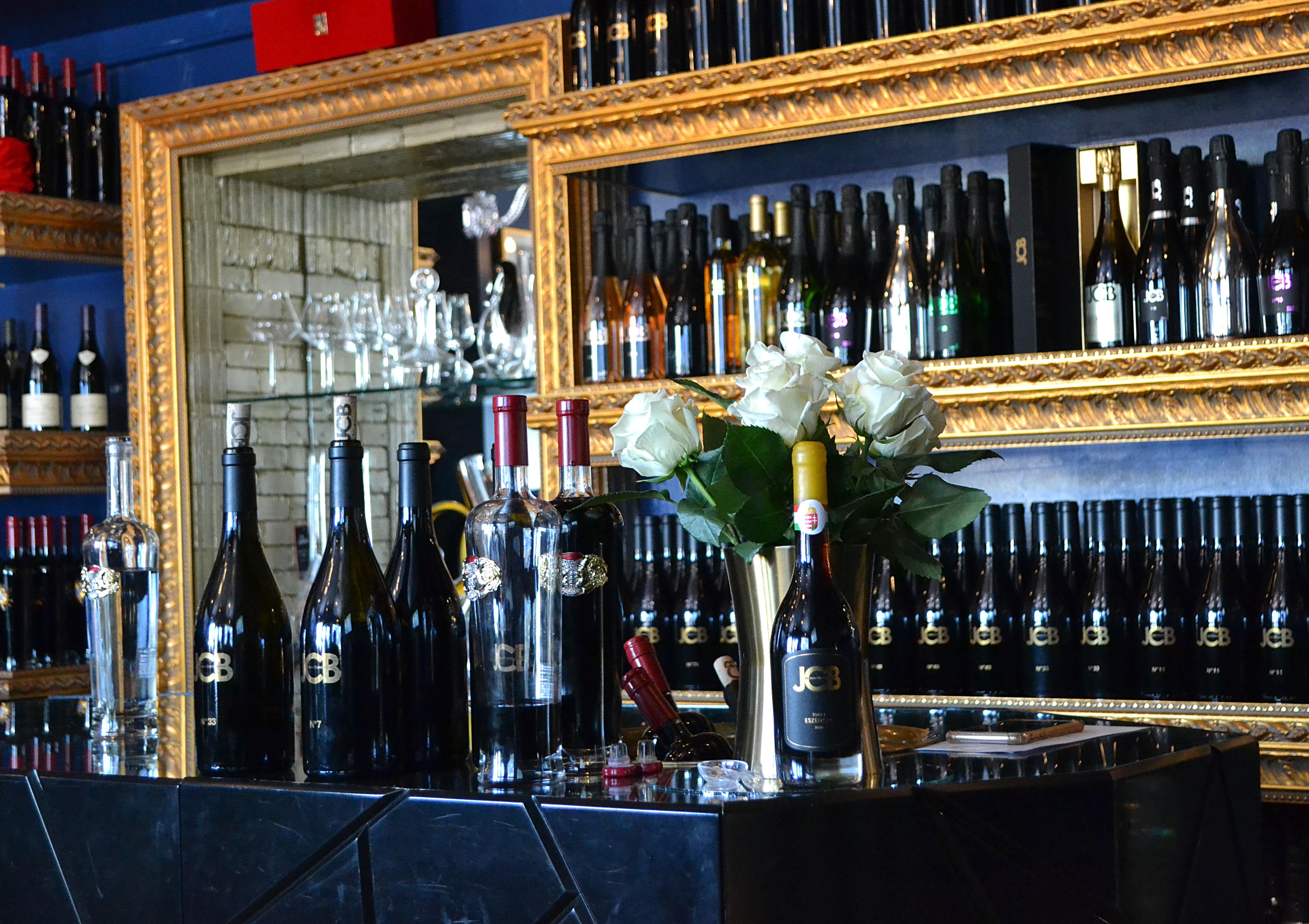 JCB Tasting Salon, Healdsburg, California