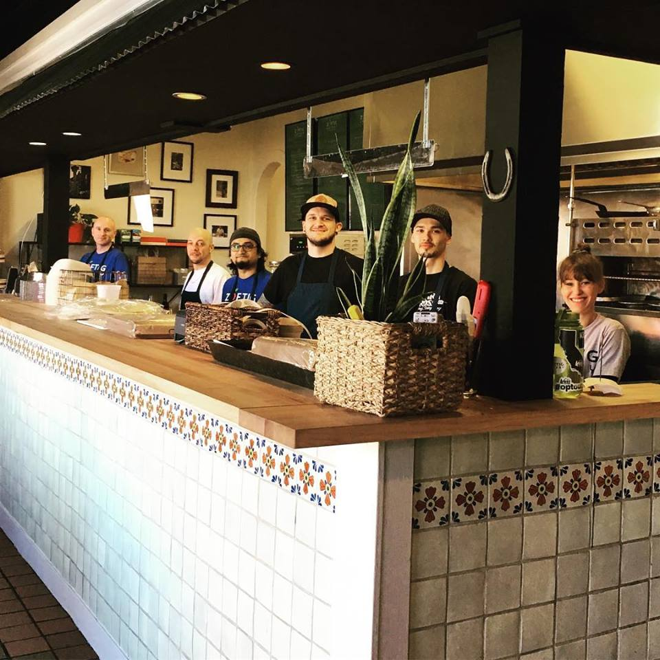 Kitchen at Zoftig Eatery in Santa Rosa, Sonoma County, California