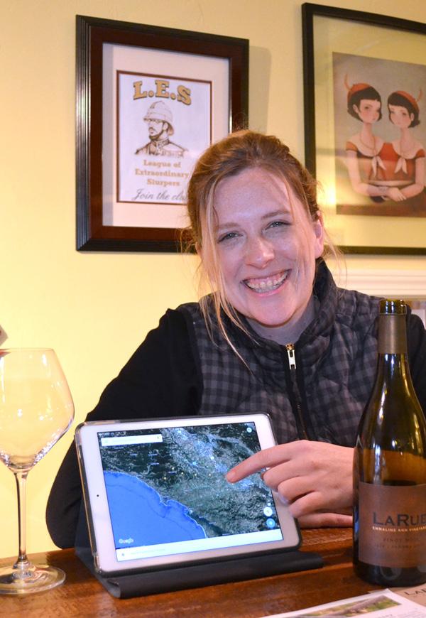 Katy Wilson, winemaker of LaRue Wines