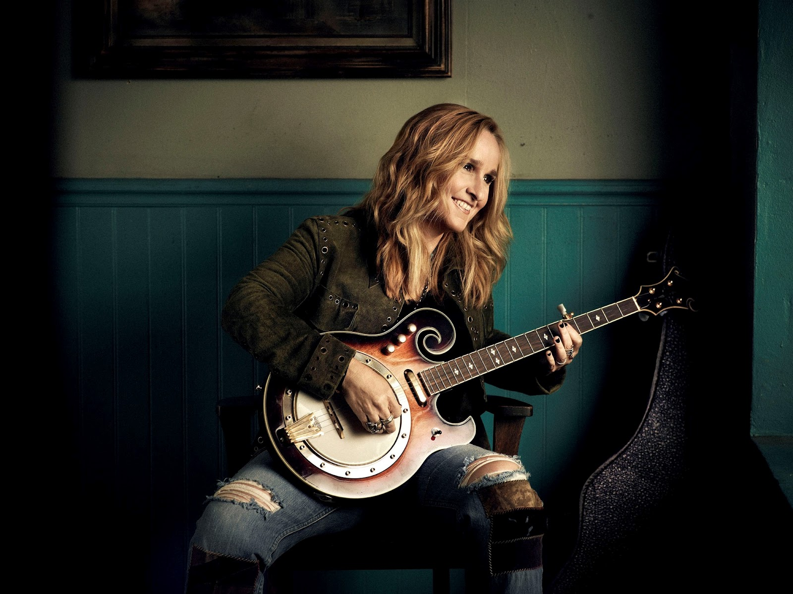 Melissa Etheridge at Rodney Strong Vineyards in Sonoma County, California