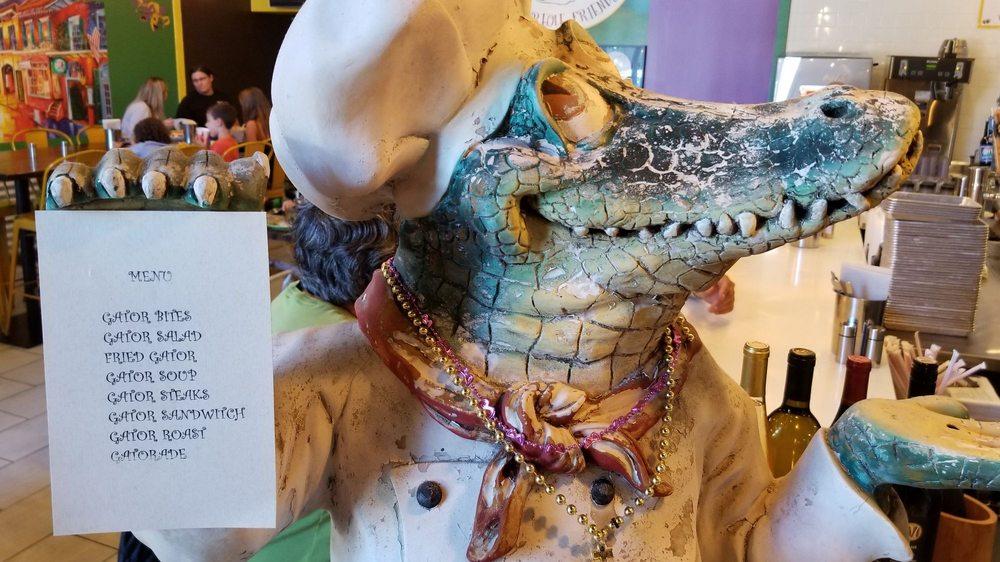 Gator's Rustic Burger & His Creole Friends, Petaluma, California