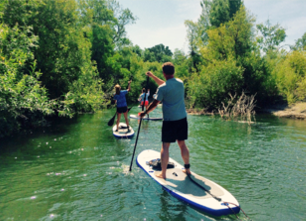 Paddleboarding with Rubicon Adventures in Sonoma County, California