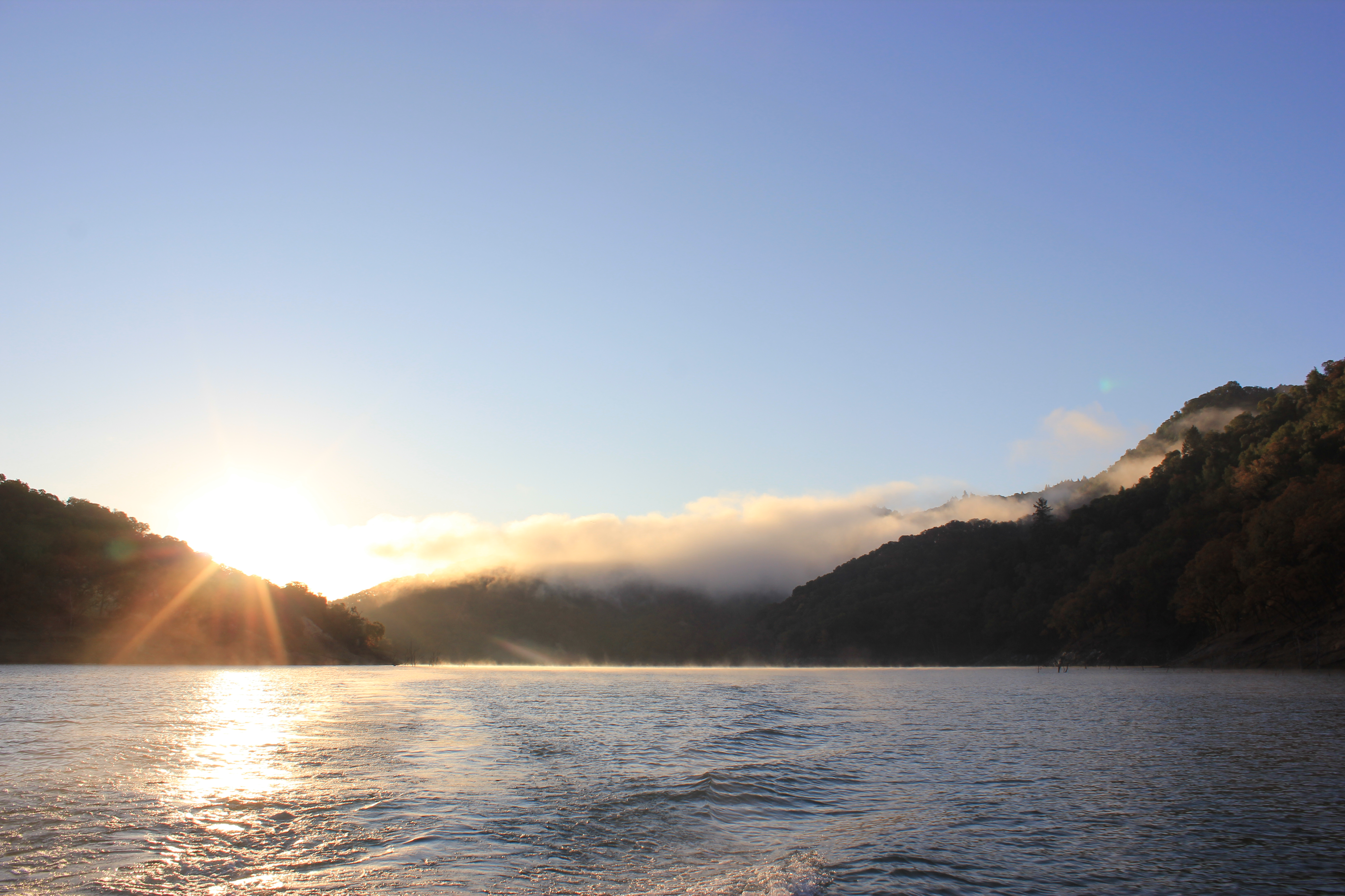 Lake Sonoma in Sonoma County, California