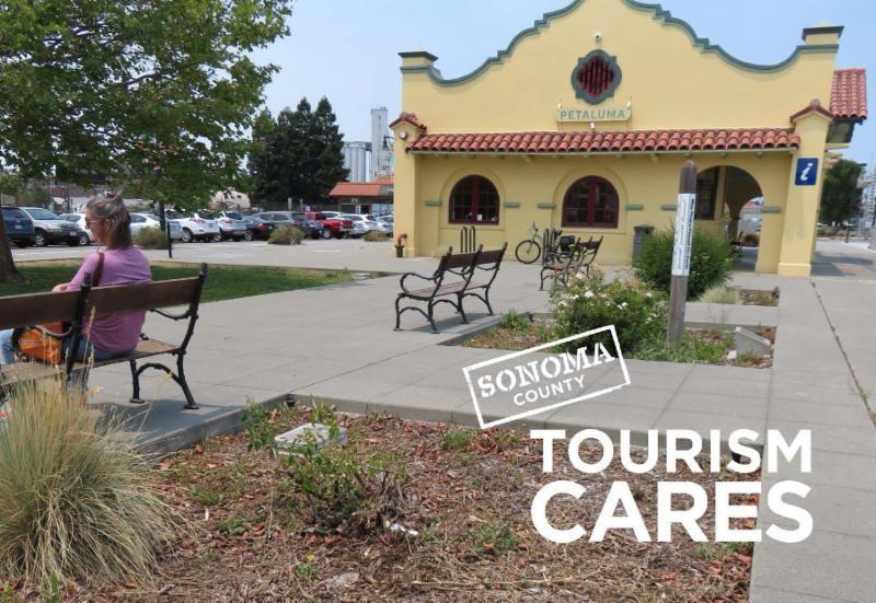 Tourism Cares, Petaluma Visitors Center, Sonoma County, California