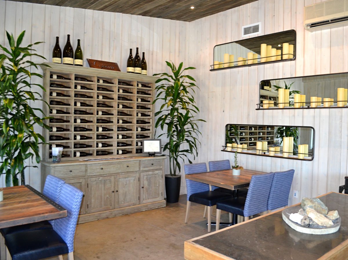 Copain Wines in Healdsburg, Sonoma County, California