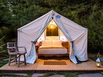 Guernevilleu0027s popular Boon Hotel hated turning away guests when rooms were completely booked so they added some spiffy tent cabins to the property. & Glamping: Luxury Camping in Wine Country | Sonoma County (Official ...