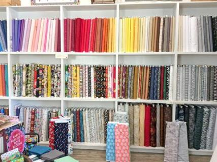 bolt fabric and more store in downtown cloverdale