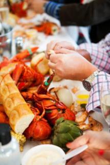 Lobster Feed at B. R. Cohn Winery in Sonoma County, California
