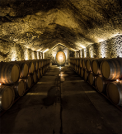 The oldest commercial winery caves at Buena Vista Winery