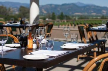 Sit Outside On The Beautiful Terrace And Watch Sun Set Over Gentle Rolling Hills Of Alexander Valley Dine Cuisine That Embraces Both