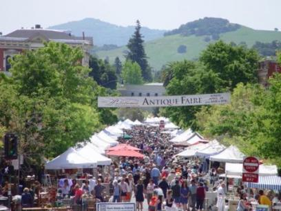 petaluma antique fair